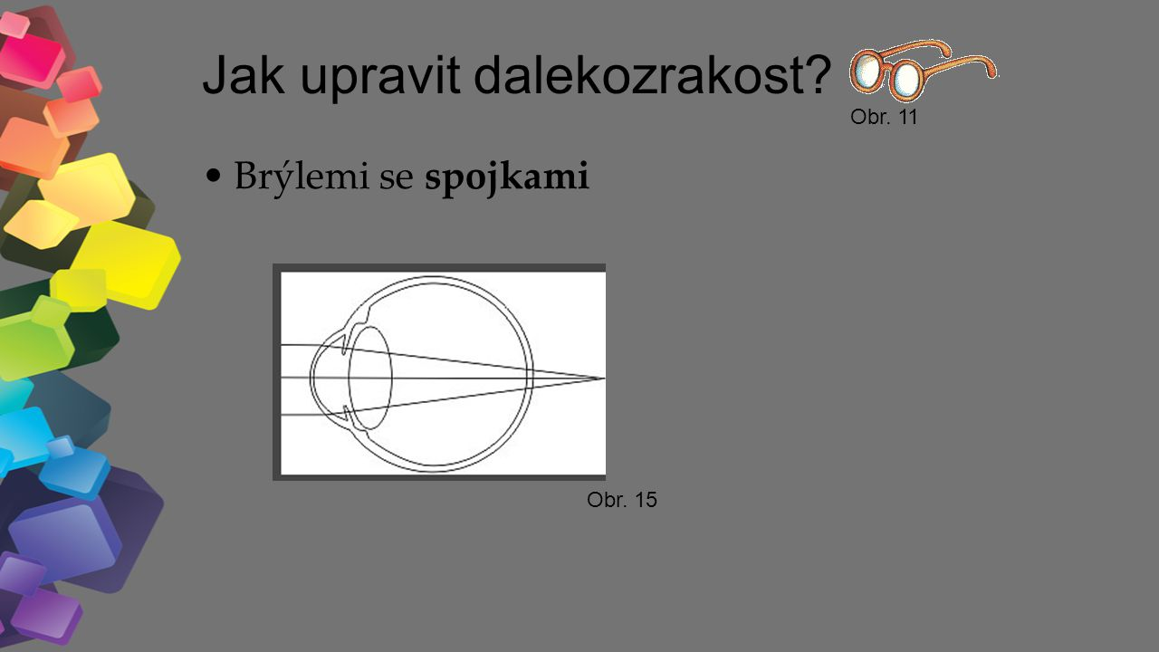 Jak upravit dalekozrakost