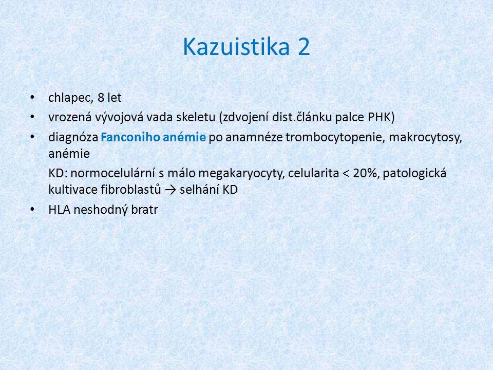 Kazuistika 2 chlapec, 8 let