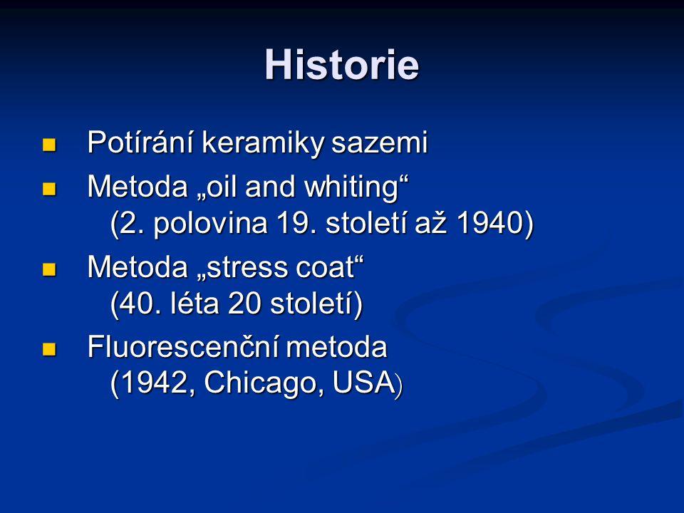 Historie Potírání keramiky sazemi