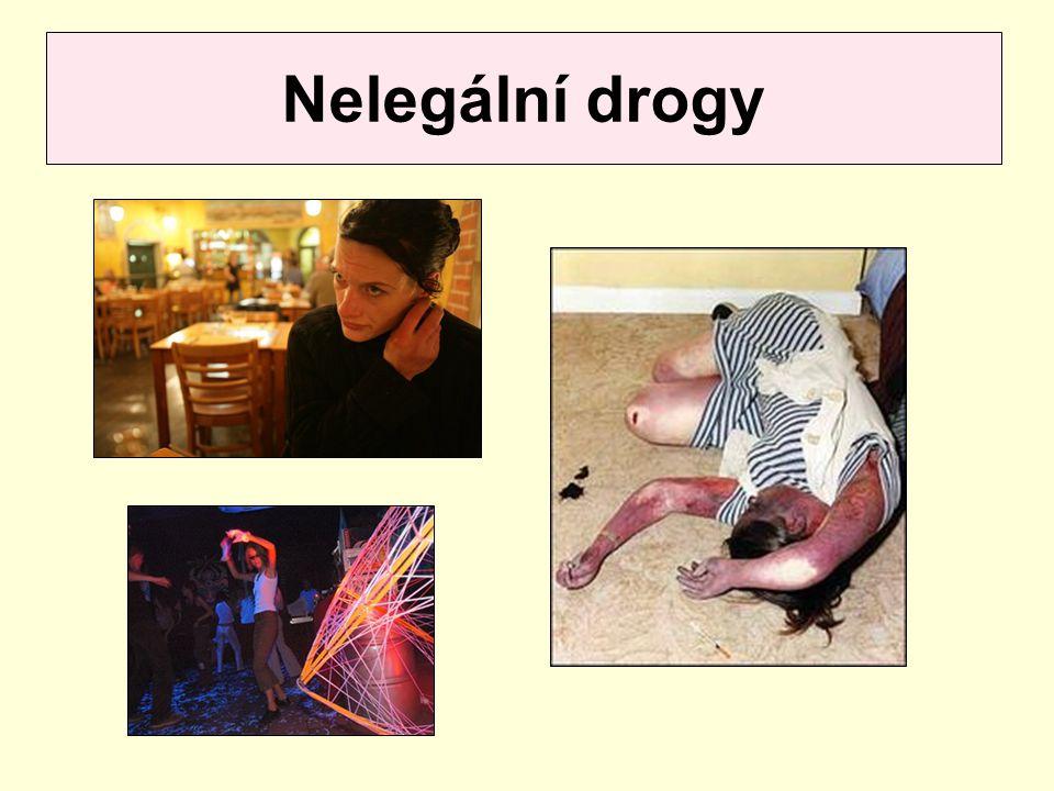 Nelegální drogy
