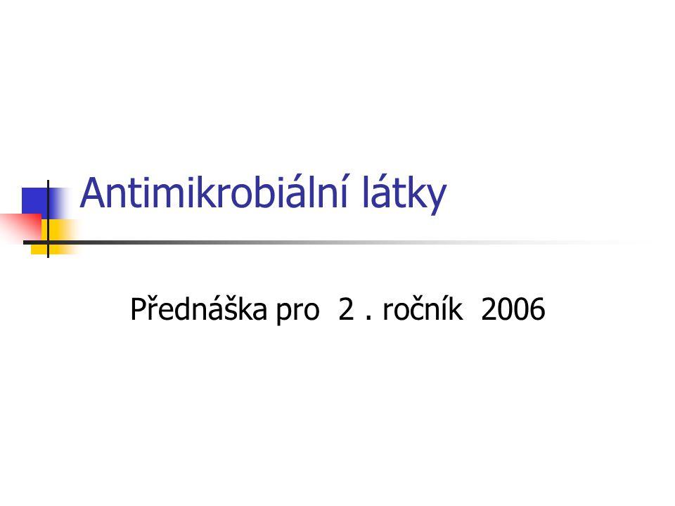 Antimikrobiální látky