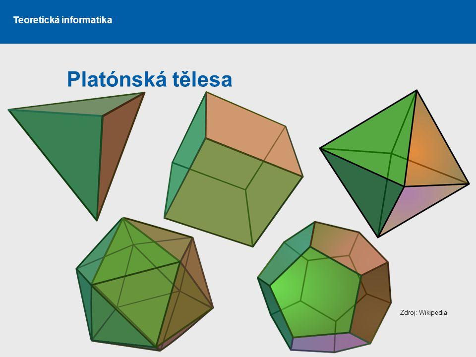 Platónská tělesa Zdroj: Wikipedia