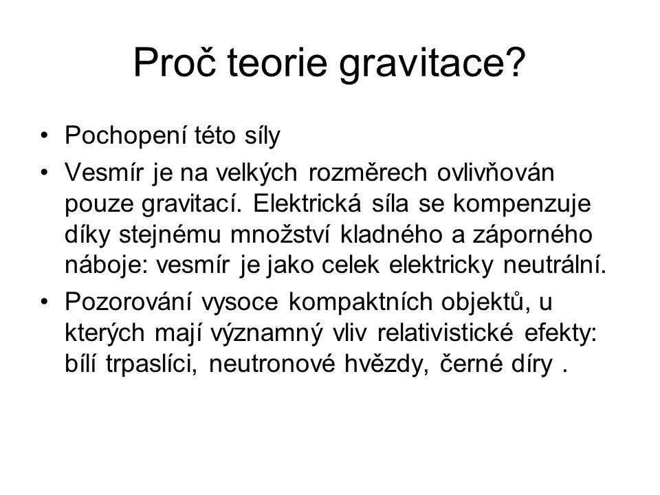 Proč teorie gravitace Pochopení této síly