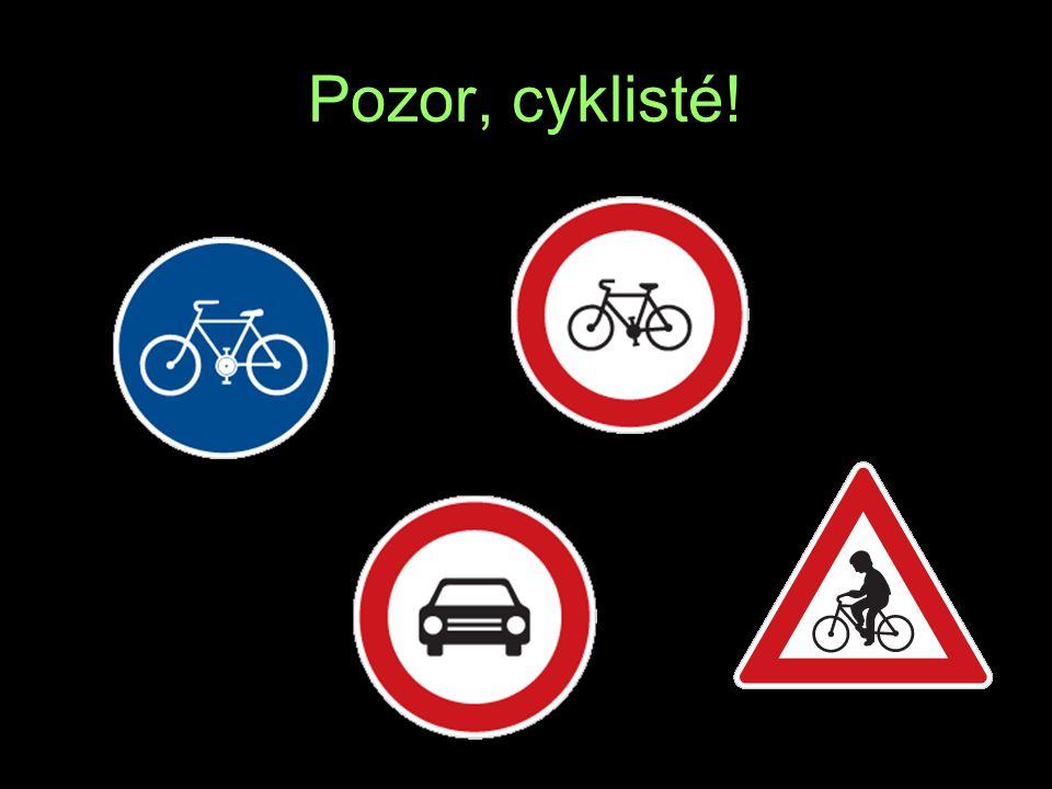 Pozor, cyklisté! R E T A