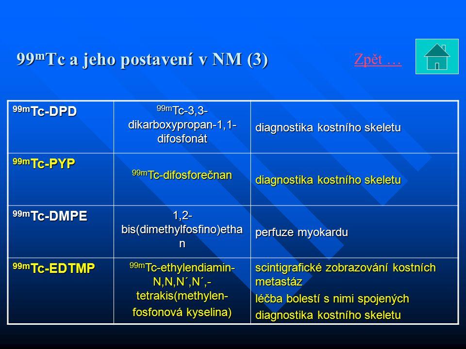 99mTc a jeho postavení v NM (3)