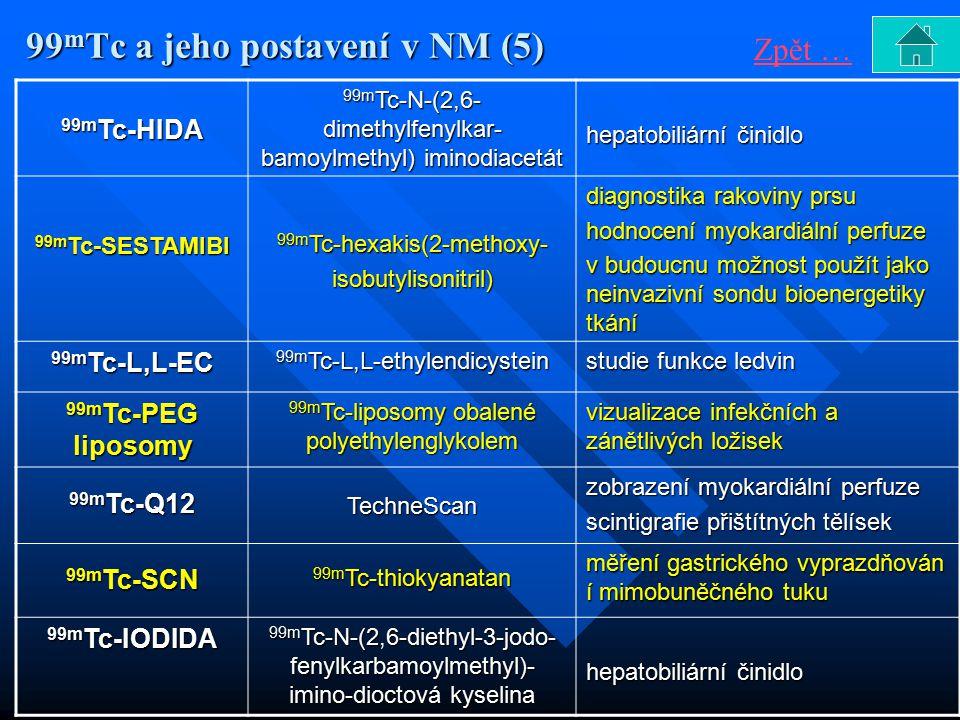 99mTc a jeho postavení v NM (5)