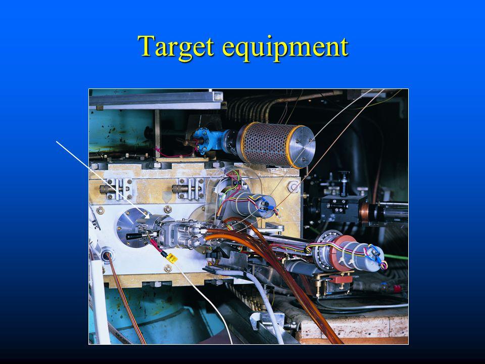 Target equipment
