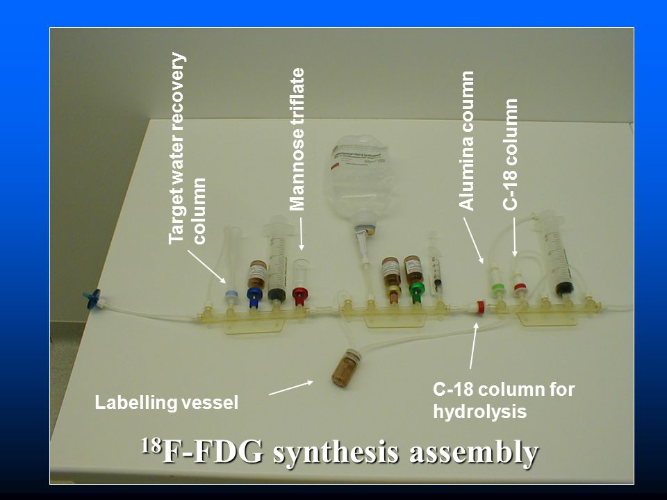 18F-FDG synthesis assembly