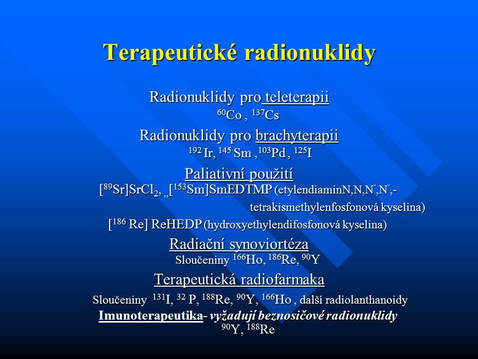 Terapeutické radionuklidy