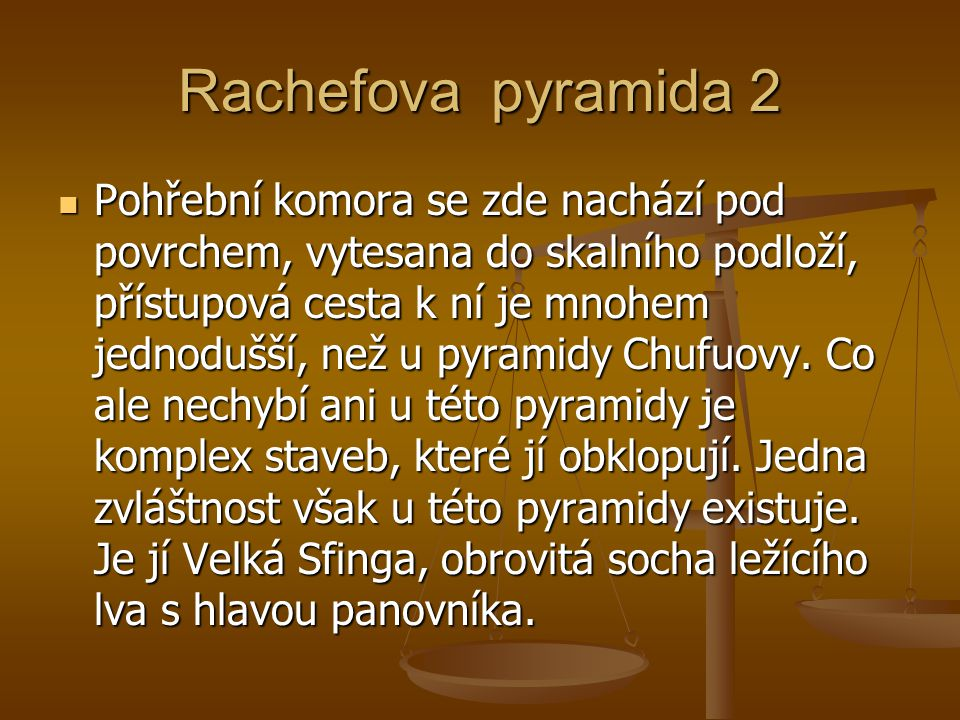 Rachefova pyramida 2