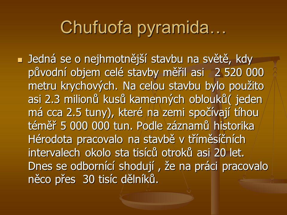 Chufuofa pyramida…