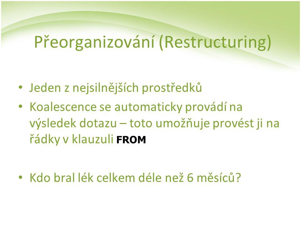 Přeorganizování (Restructuring)