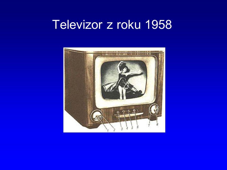 Televizor z roku 1958