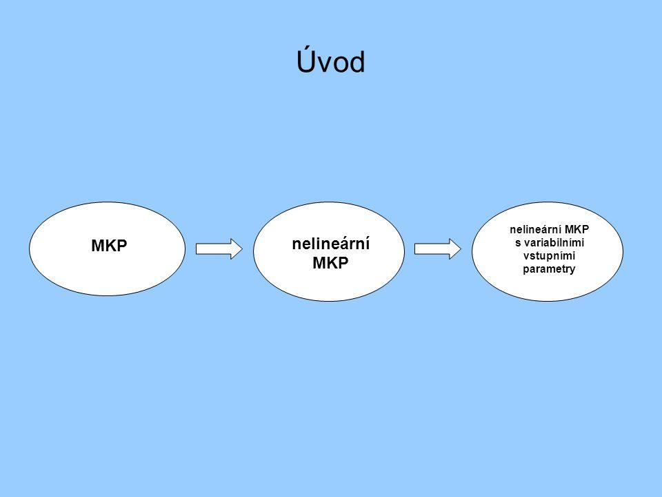 nelineární MKP s variabilními vstupními parametry