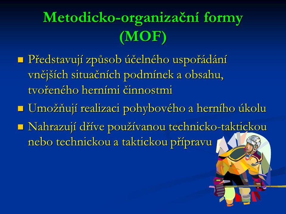 Metodicko-organizační formy (MOF)