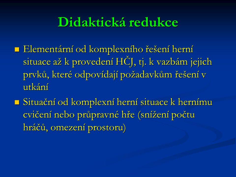 Didaktická redukce