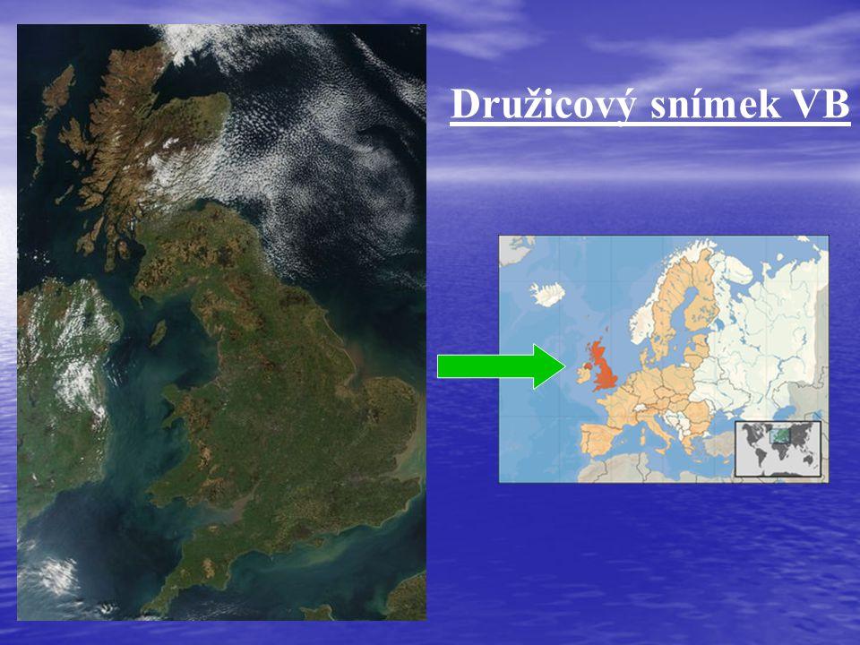 Družicový snímek VB