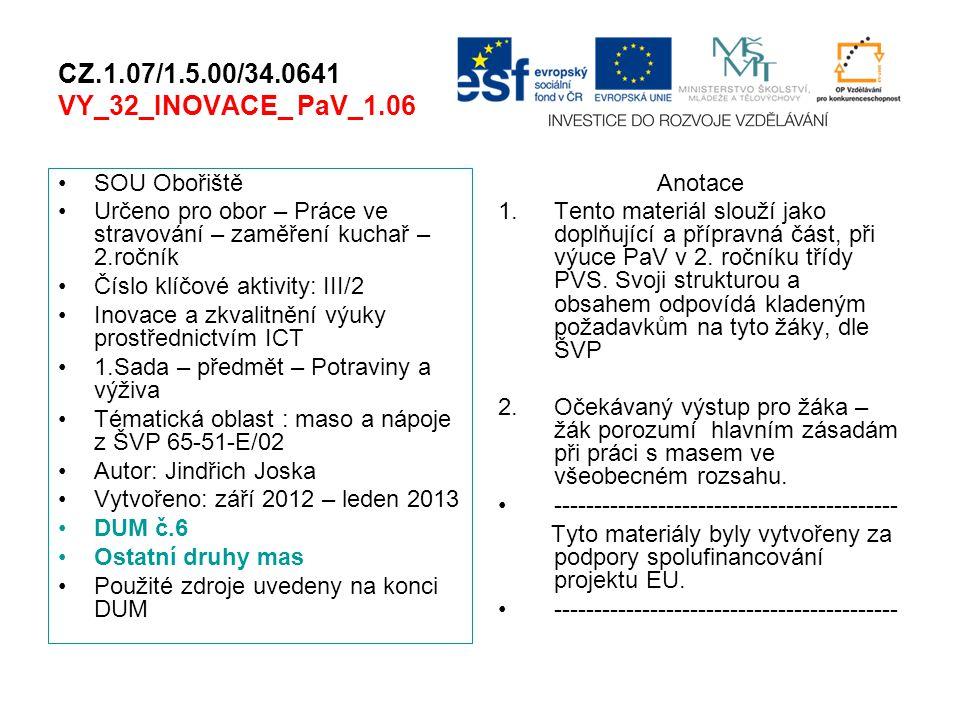 CZ.1.07/1.5.00/34.0641 VY_32_INOVACE_ PaV_1.06