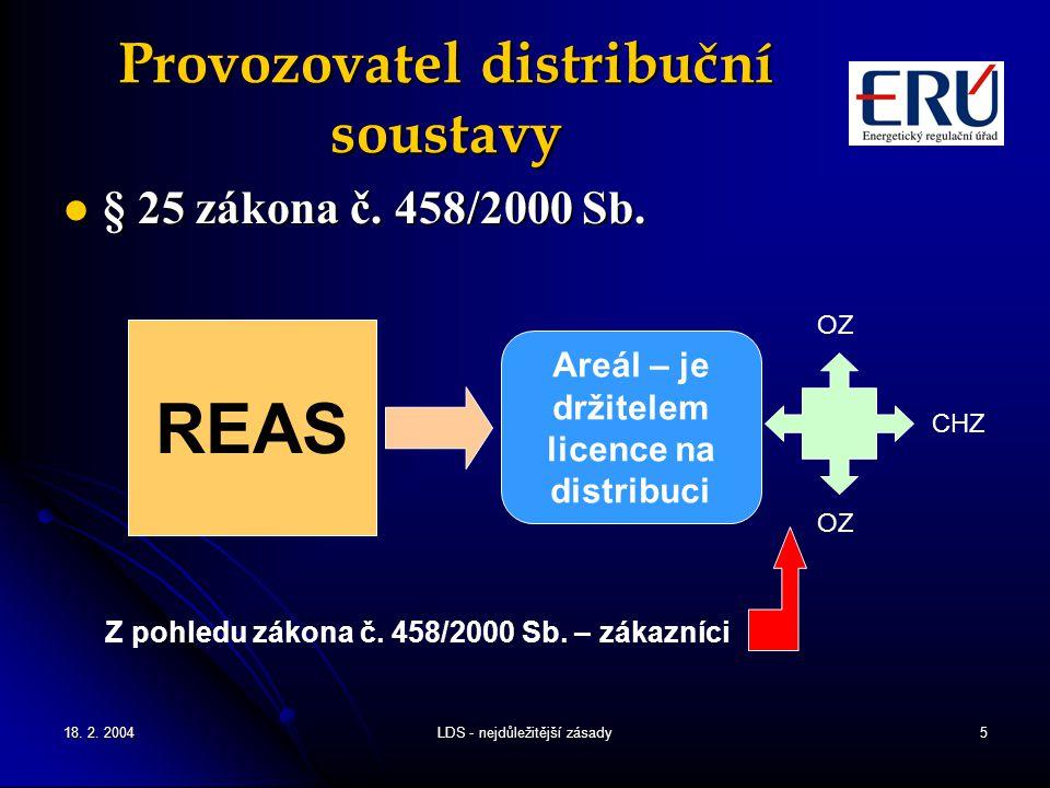 Provozovatel distribuční soustavy