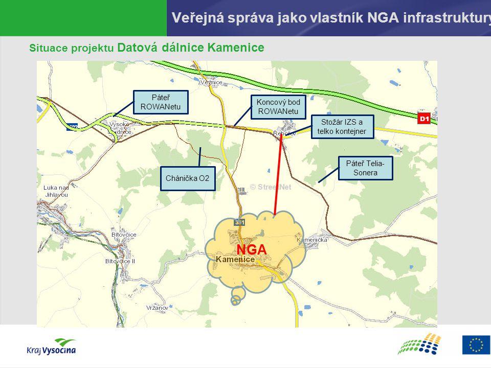 Veřejná správa jako vlastník NGA infrastruktury