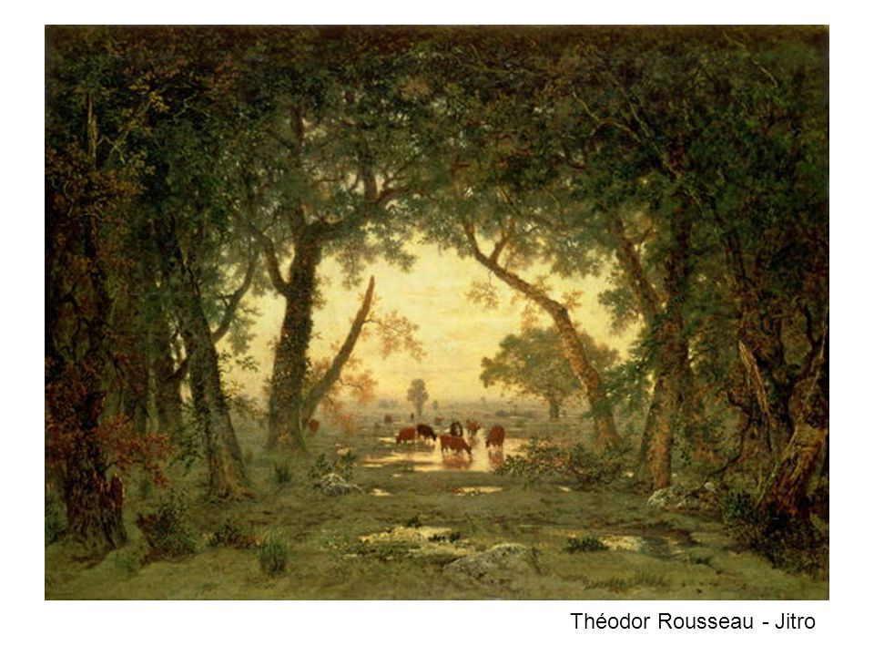Théodor Rousseau - Jitro