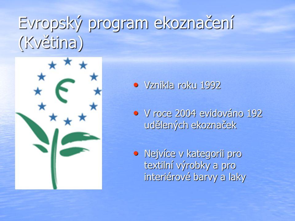 Evropský program ekoznačení (Květina)