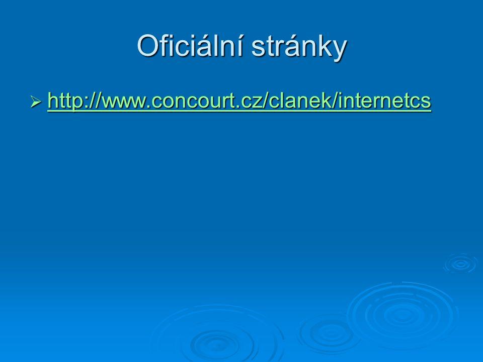 Oficiální stránky http://www.concourt.cz/clanek/internetcs
