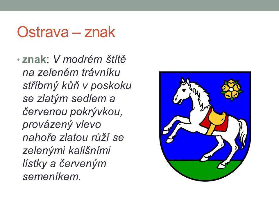 Ostrava – znak