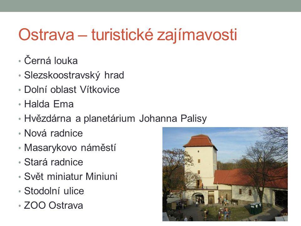 Ostrava – turistické zajímavosti
