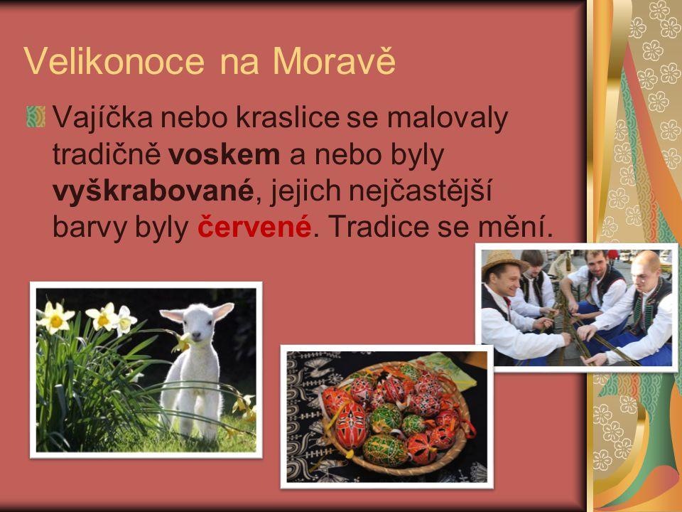 Velikonoce na Moravě