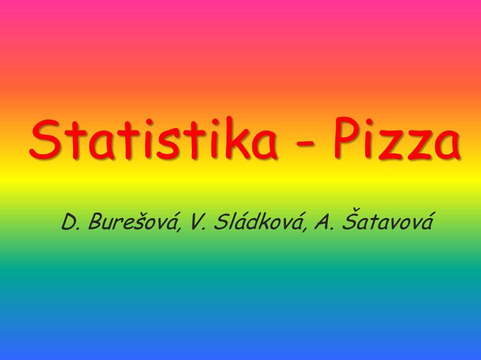 D. Burešová, V. Sládková, A. Šatavová
