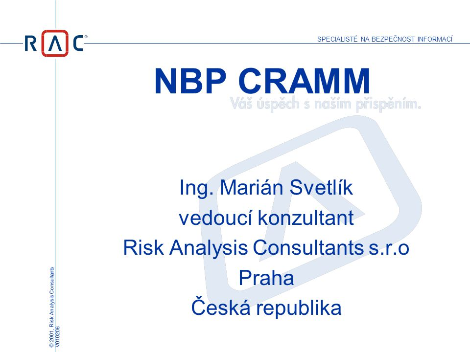 Risk Analysis Consultants s.r.o