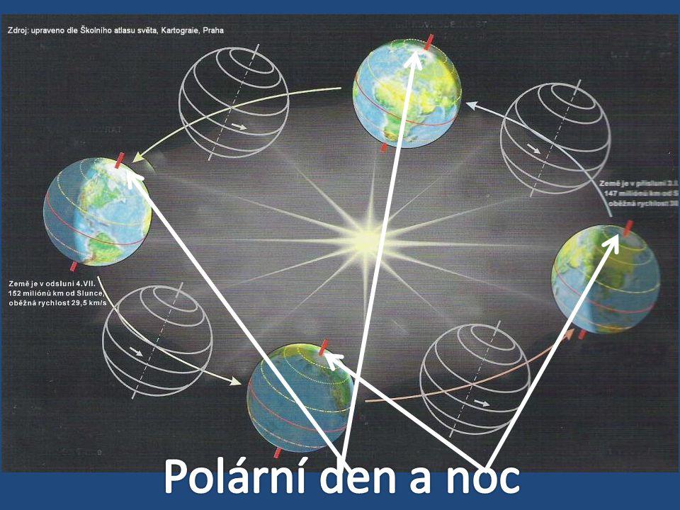 Polární den a noc