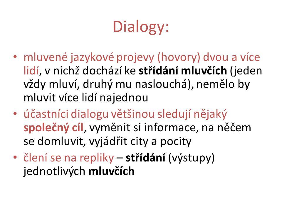 Dialogy: