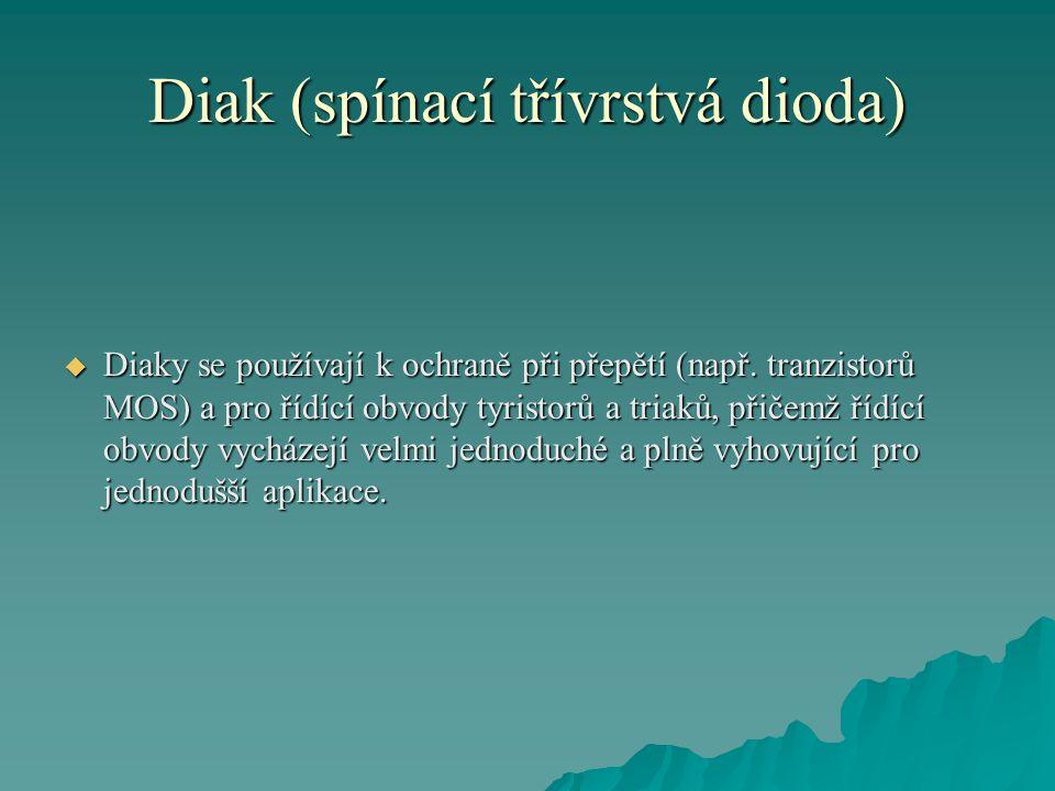 Diak (spínací třívrstvá dioda)