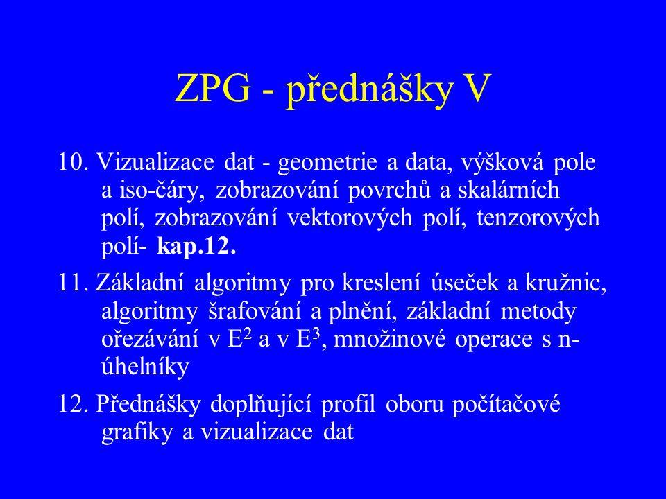 ZPG - přednášky V