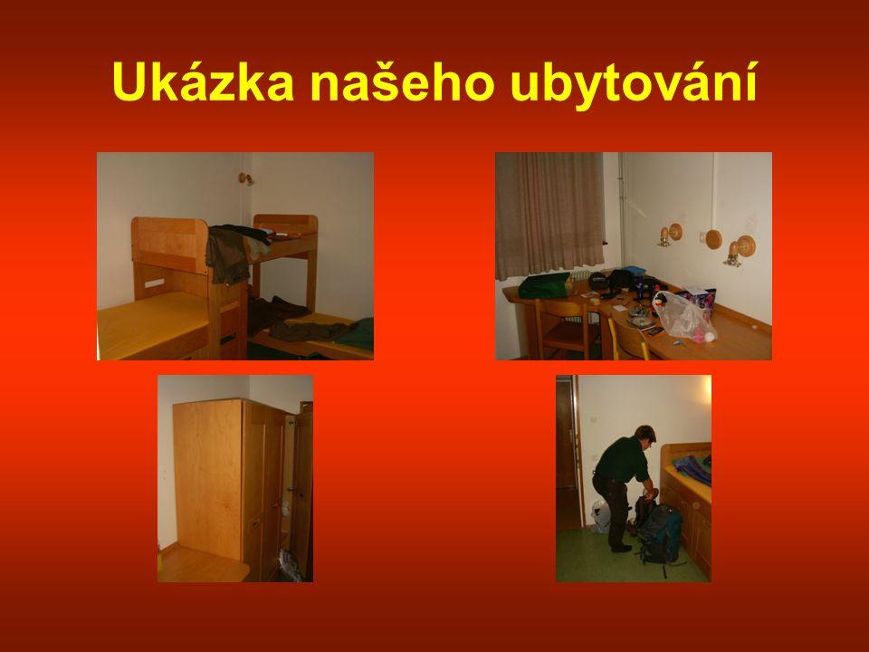 Ukázka našeho ubytování