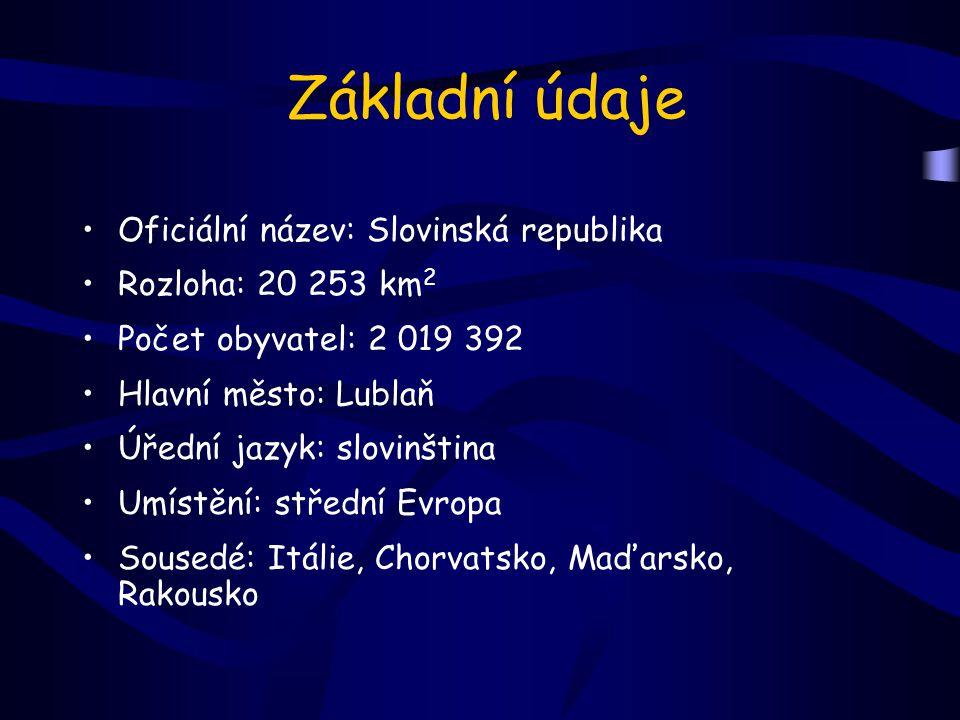 Základní údaje Oficiální název: Slovinská republika