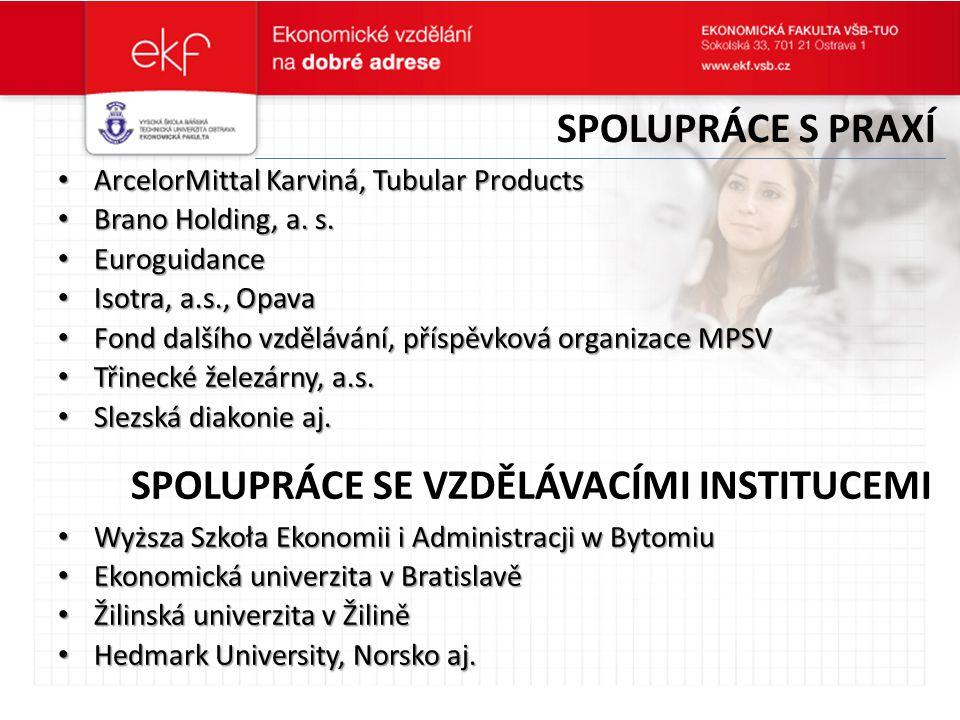 Spolupráce se vzdělávacími institucemi
