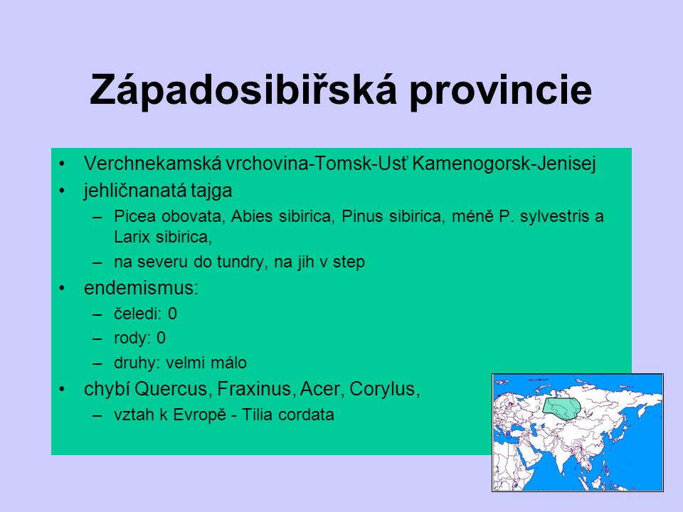 Západosibiřská provincie