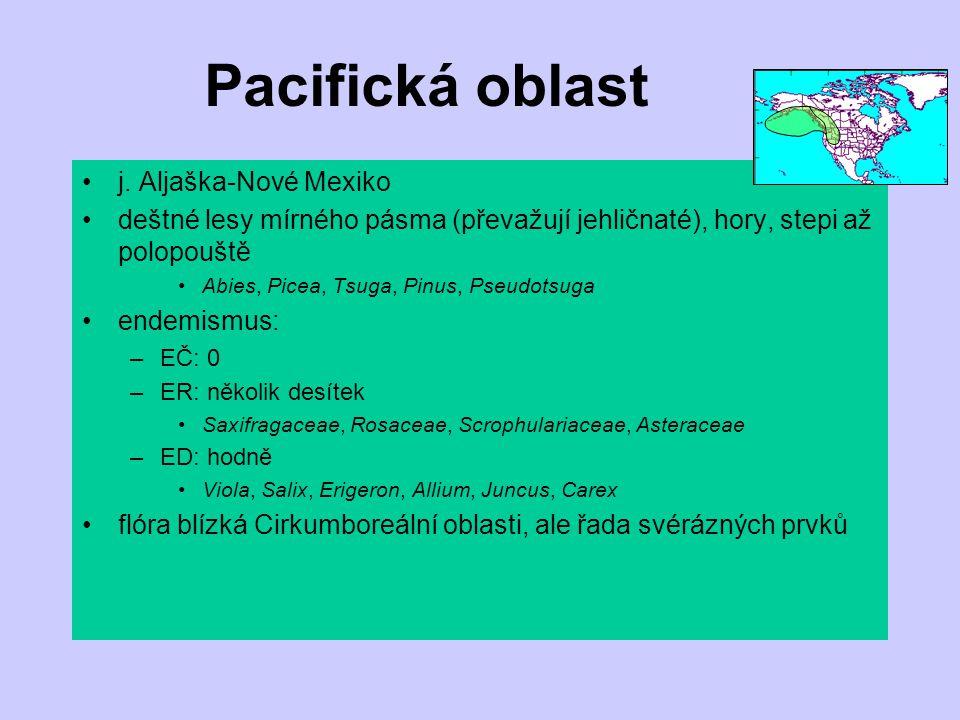 Pacifická oblast j. Aljaška-Nové Mexiko