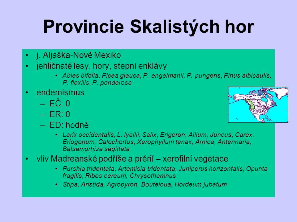 Provincie Skalistých hor