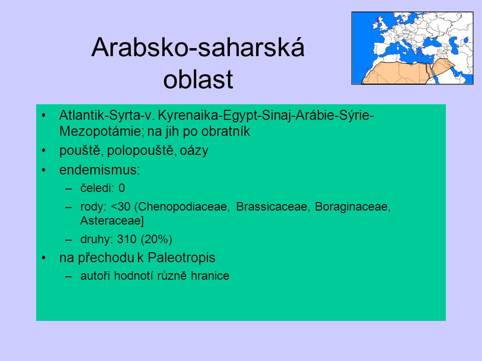Arabsko-saharská oblast