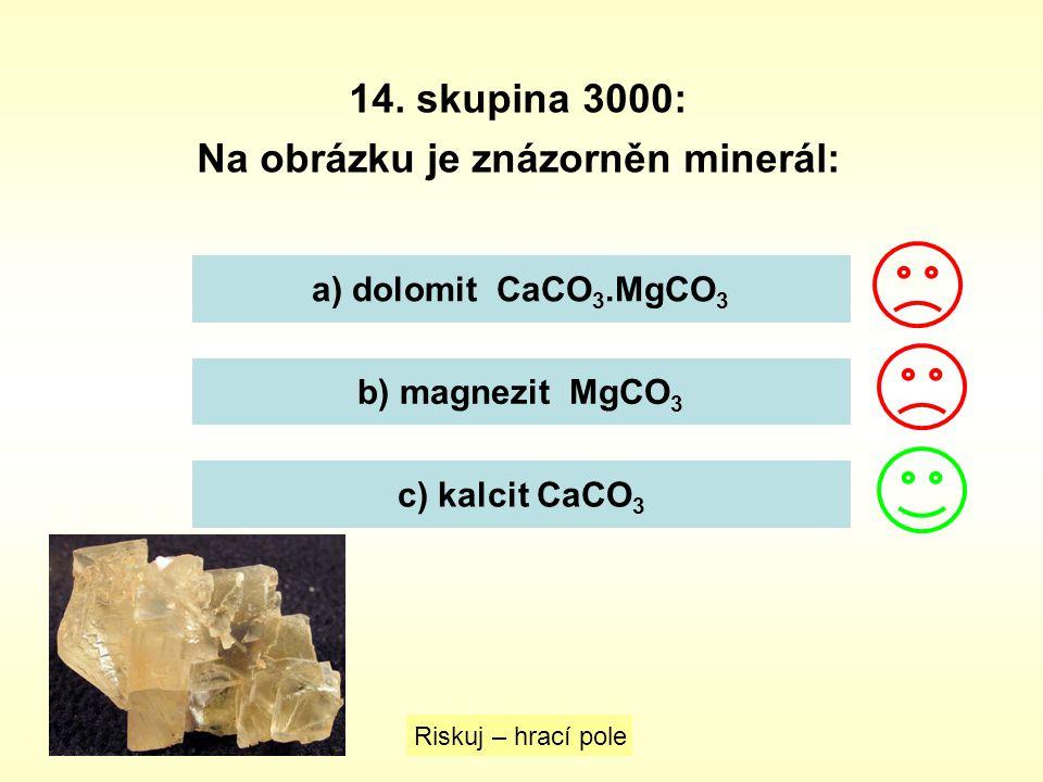 Na obrázku je znázorněn minerál: