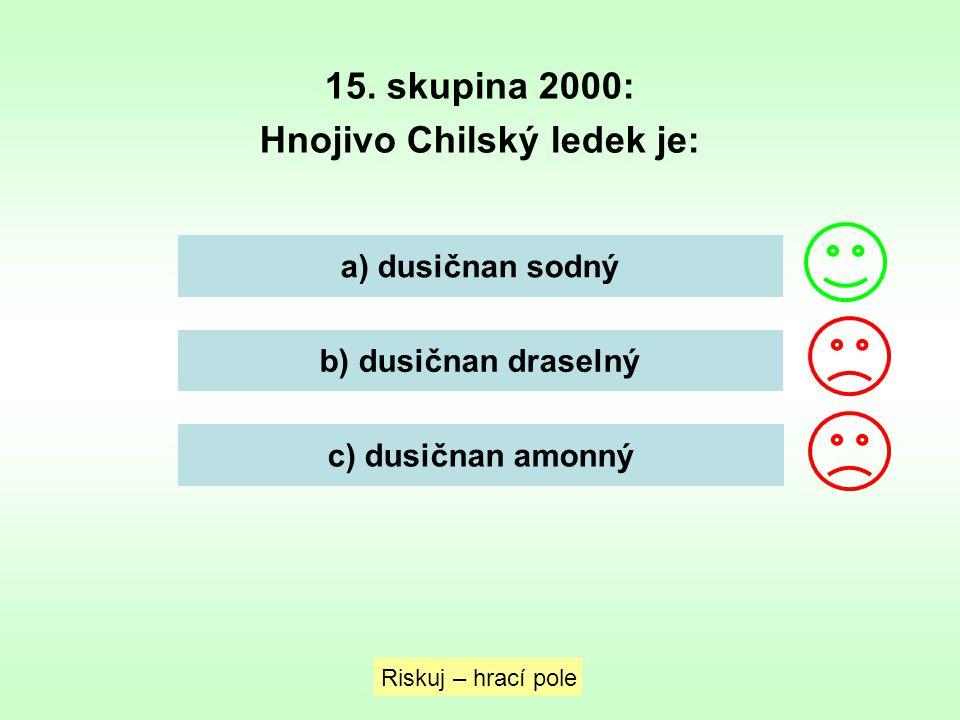 Hnojivo Chilský ledek je: