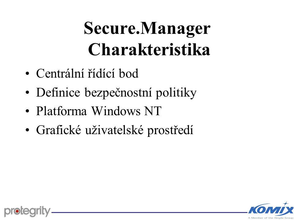 Secure.Manager Charakteristika
