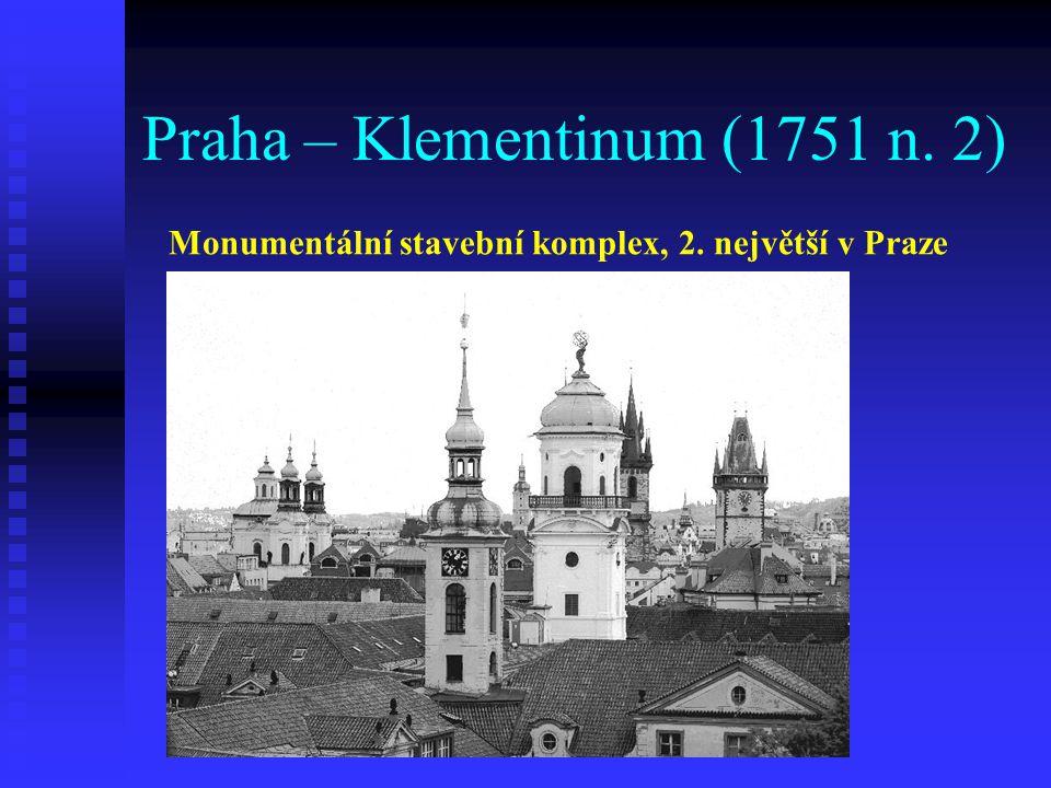 Praha – Klementinum (1751 n. 2)