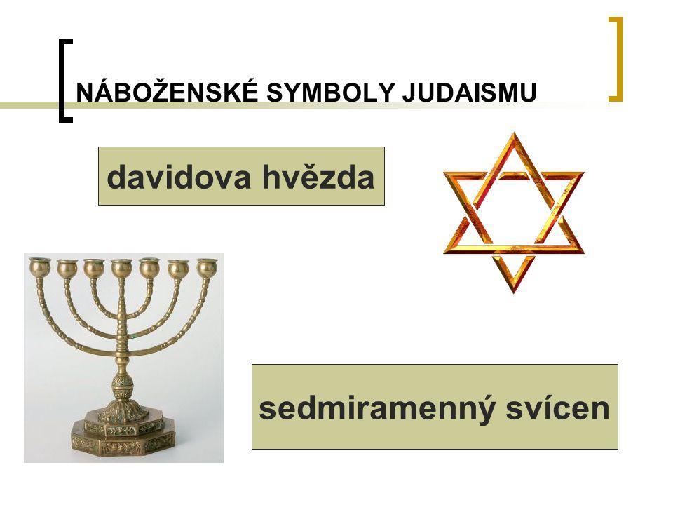 NÁBOŽENSKÉ SYMBOLY JUDAISMU