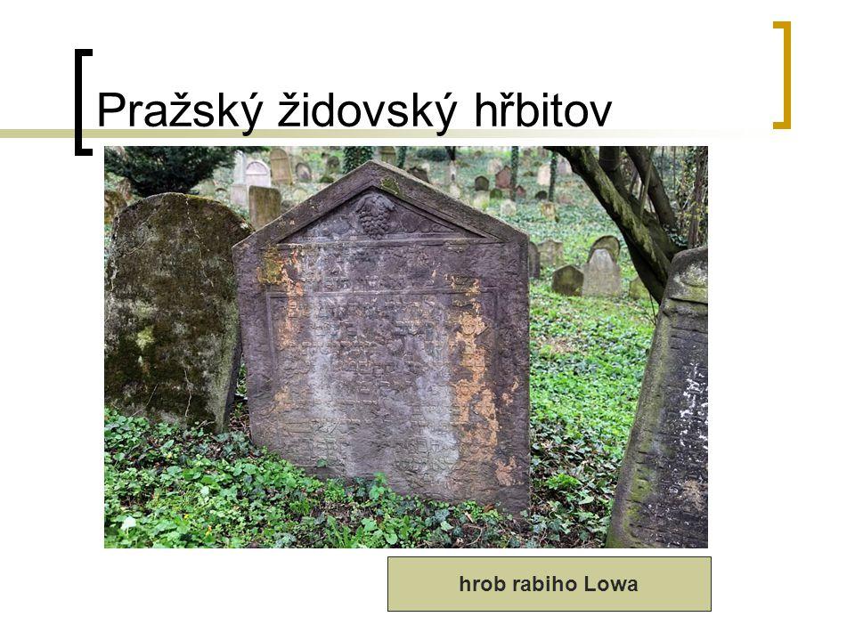 Pražský židovský hřbitov