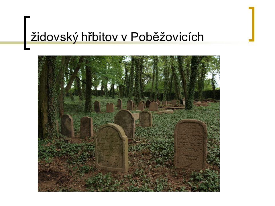 židovský hřbitov v Poběžovicích